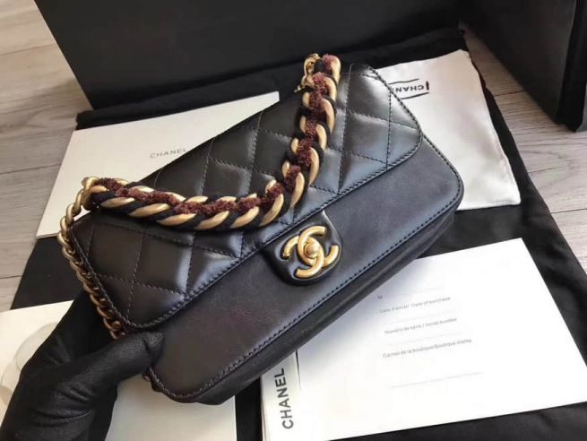 CC 2018 Leather Large Shoulder Bags Women Bags