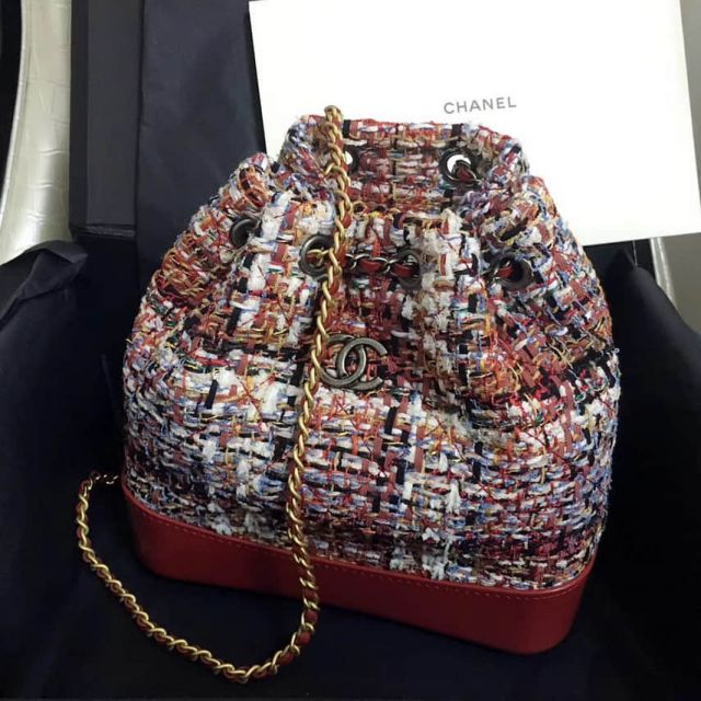 2018ss CC Gabrielle Red Chain Small Backpack Bags Women Bags