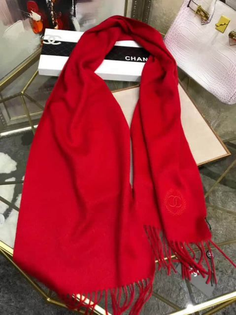 CC Cashmere Classic Red Women Scarves