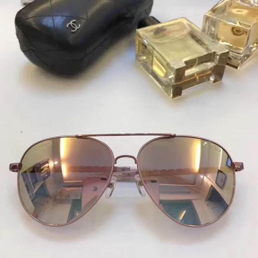 CC 4219 Soft Leather Women Sunglasses