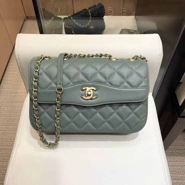 2018ss CC Soft Leather A57028 Green Shoulder Bags Women Bags