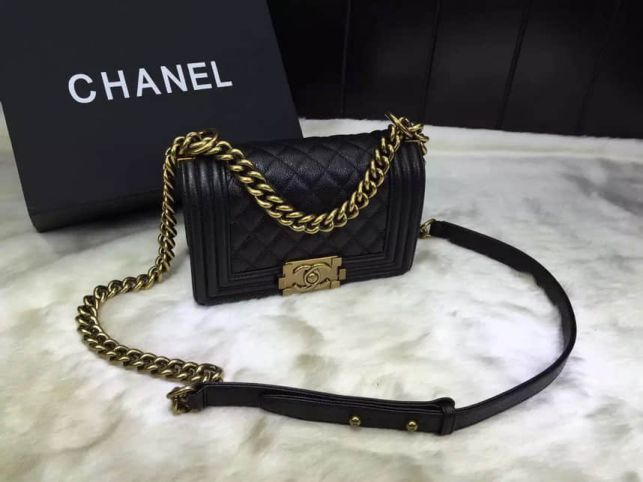 CC Leboy 20cm Gold Buckle a Shoulder Bags Women Bags