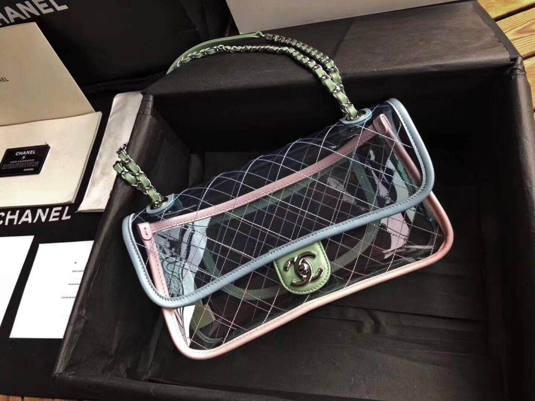 18ss CC PVC Clear Crossbody Shoulder Bags Women Bags