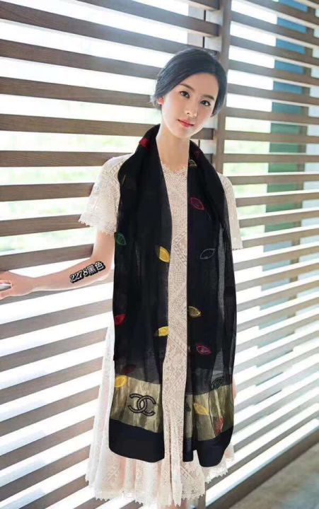 CC 2018 83.5 Wool 16.5 Mulberry Silk 2278 Women Scarves