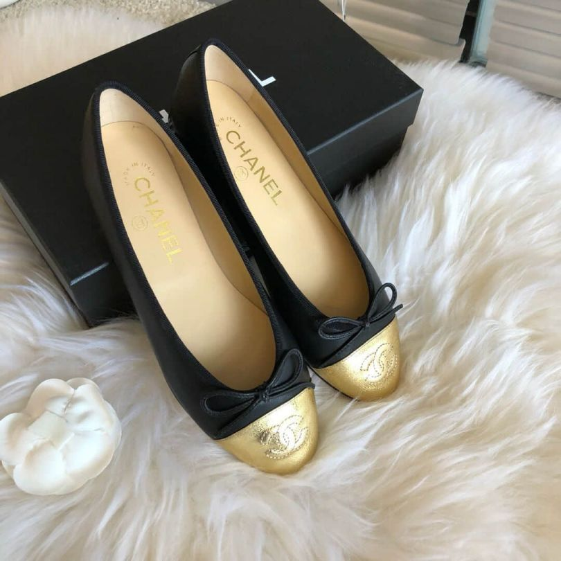 CC 2018 Soft Leather Flat Women Shoes