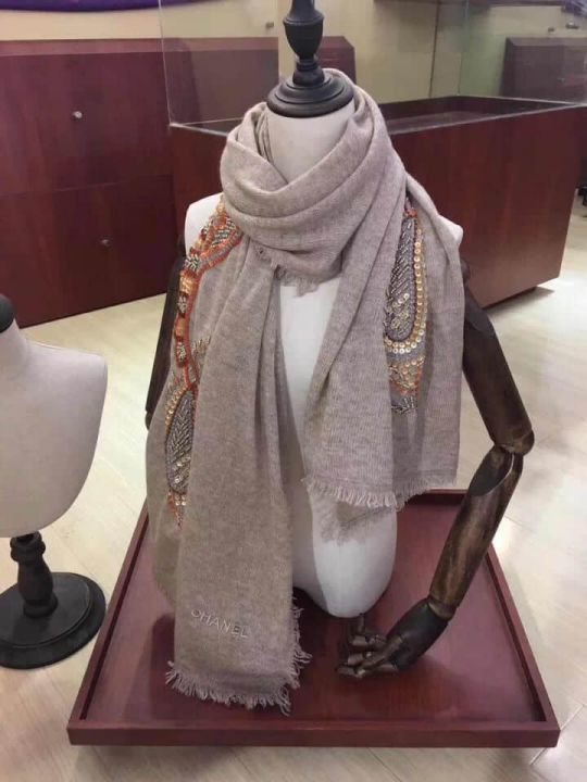 CC Cashmere Embroidery Women Scarves