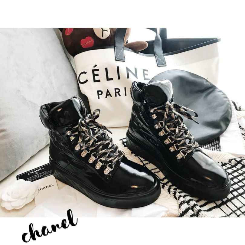 CC Patent Sneakers G33925 X52876 94305 Women Shoes