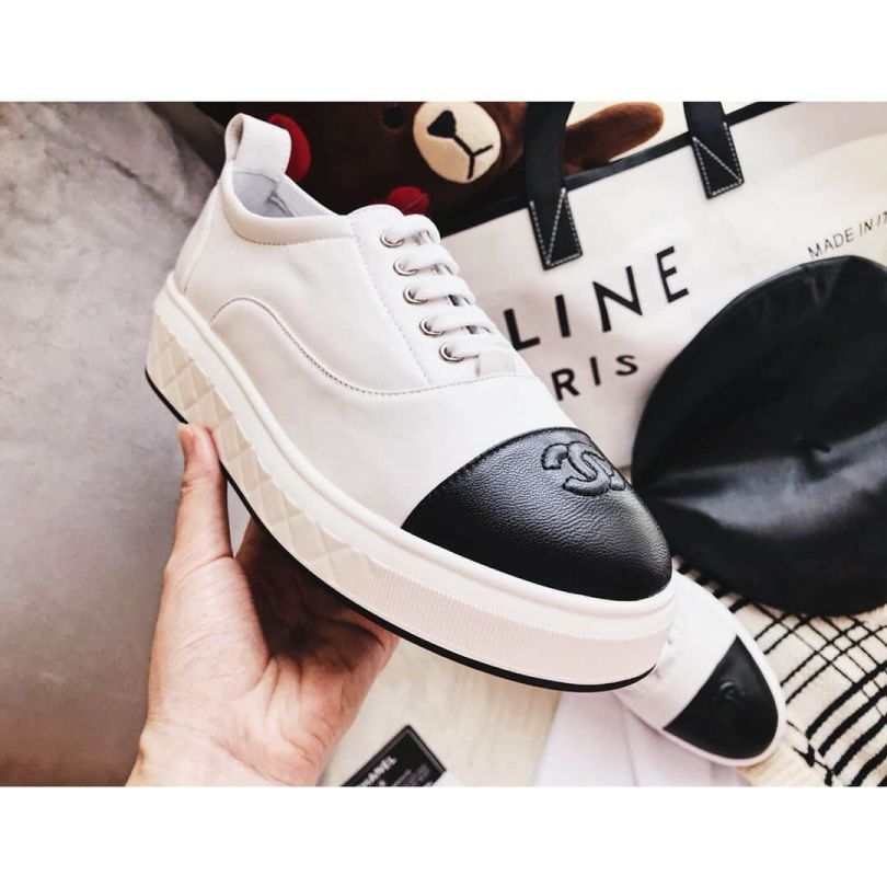 CC Soft Leather Sneakers G33909 X01000 C7600 Women Shoes