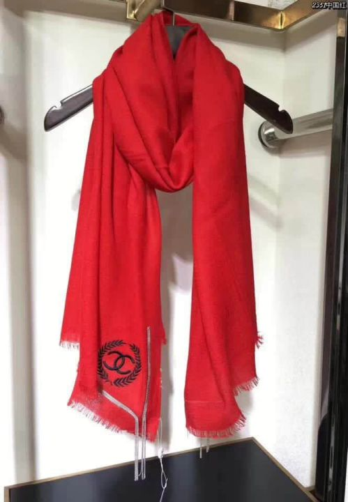 CC Embroidery Cashmere Women Scarves