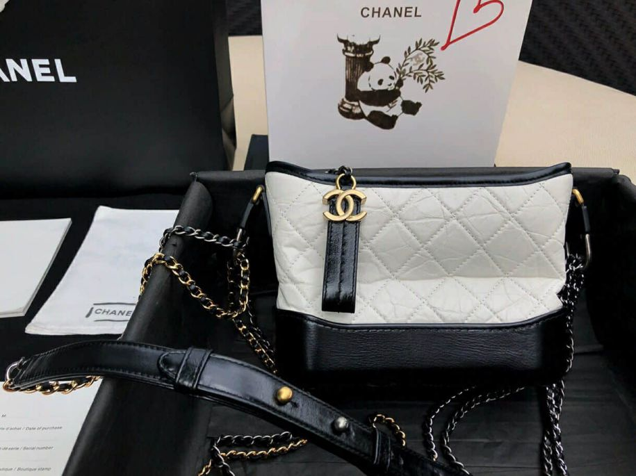 CC 2018ss Small White Black Shoulder Bags Women Bags