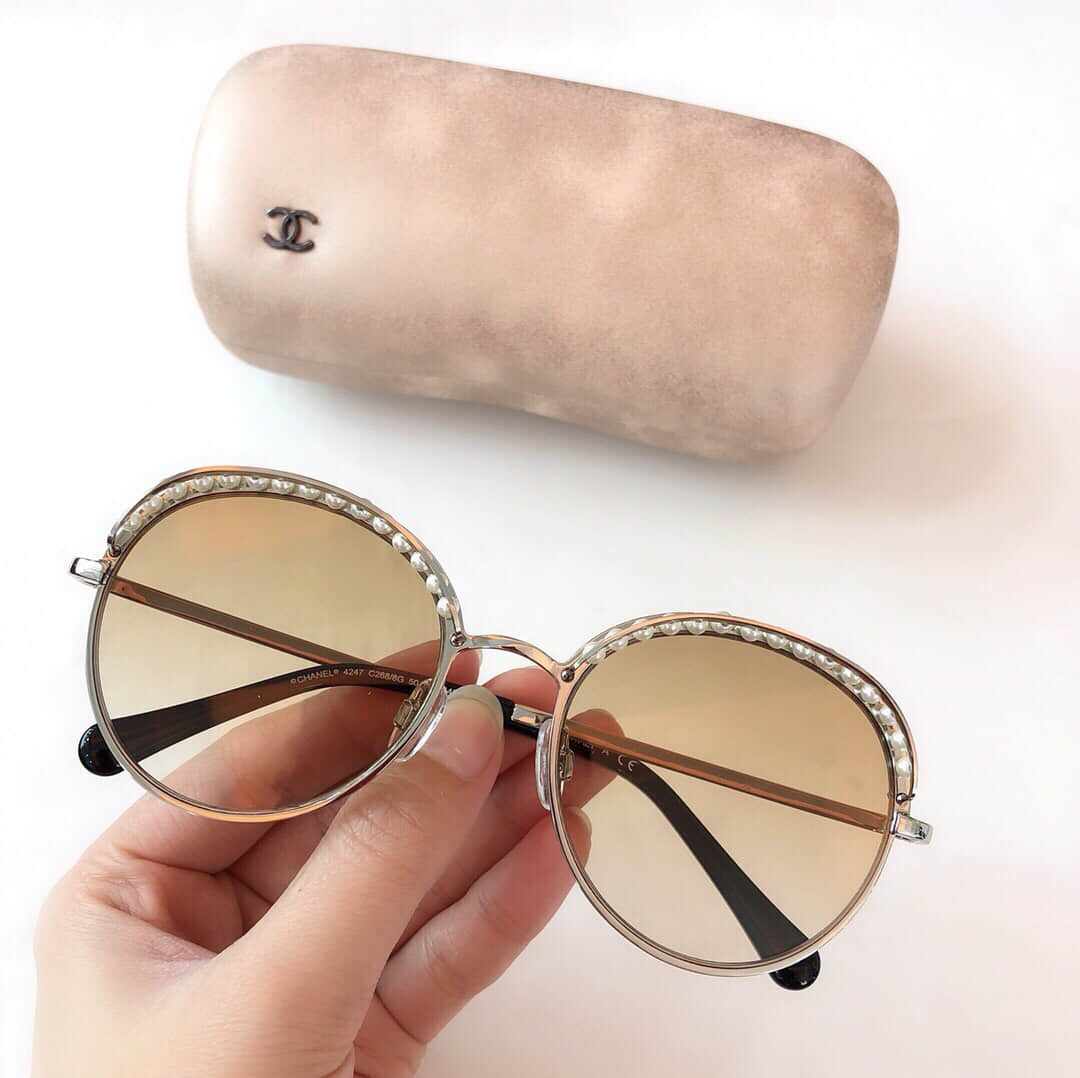 CC Cutout Vintage Women Sunglasses