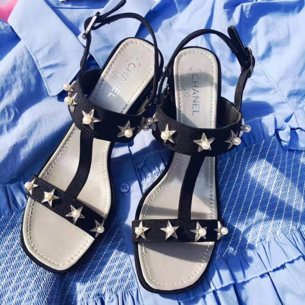 2017 CC Leather Sandals G32350 Women Shoes