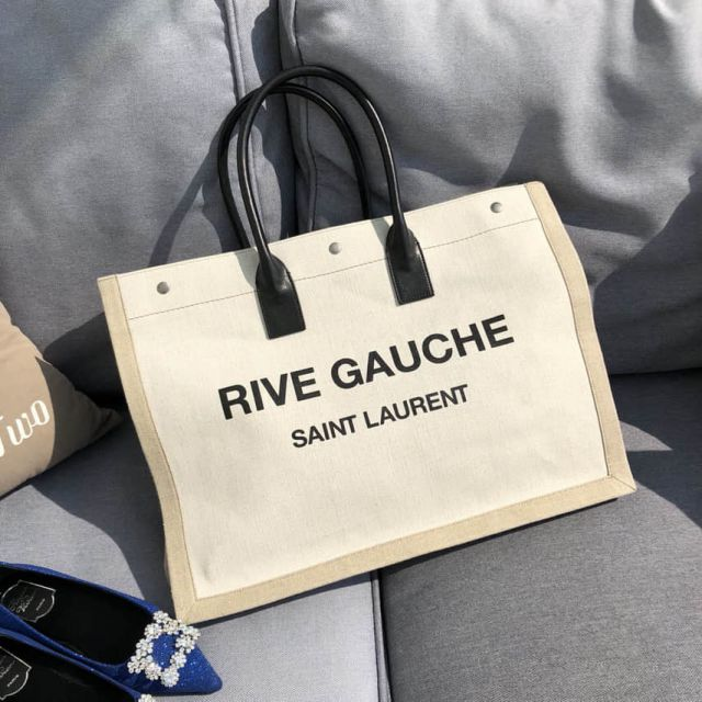 YSL Rive Gauche Tote Bag Shopper 499290 Shopping Bags