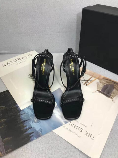 YSL Leather 2018 Sandals Women Shoes