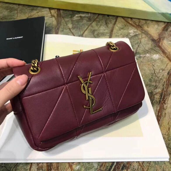 2018 YSL JAMIE Small Leather 515820 Shoulder Bags