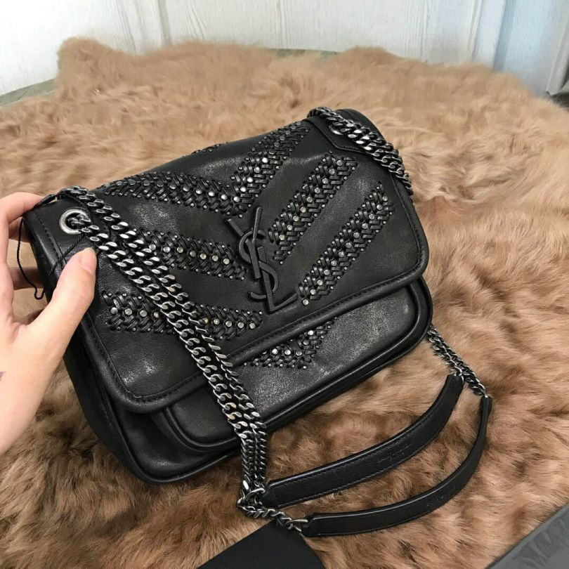 YSL NIKI Rivet Messenger 533037 Shoulder Bags