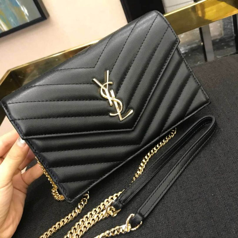 YSL WOC Small Envelope 393953 Shoulder Bags