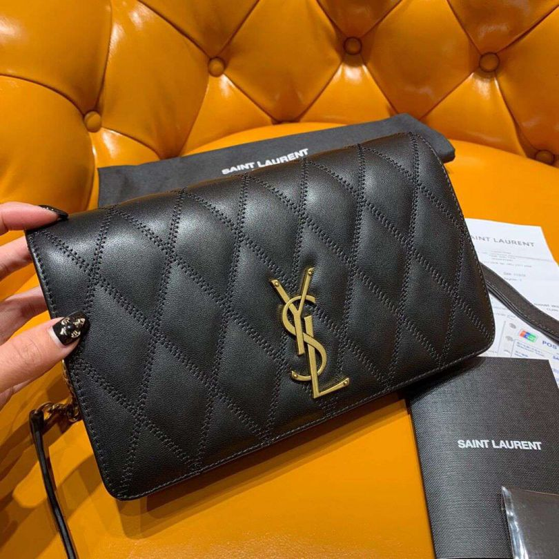 YSL ANGIE Soft Leather Bag on Chain 568906 Shoulder Bags