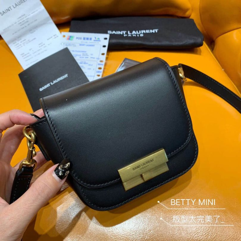 YSL BETTY mini Saddle 566959 Shoulder Bags
