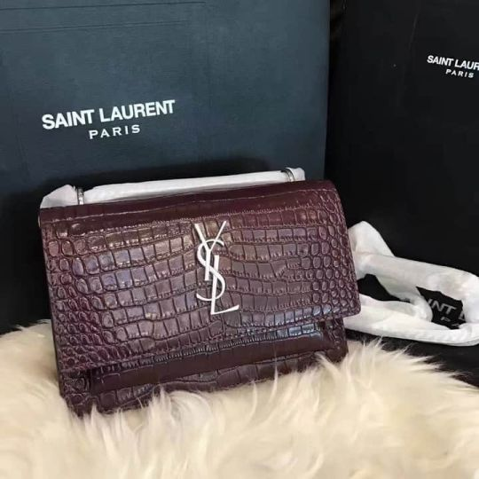 YSL sunset 17cm mini Crossbody Bag 452157 Shoulder Bags