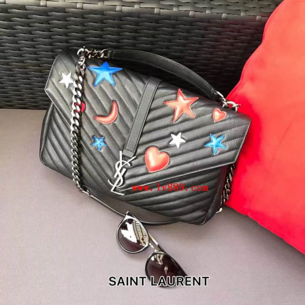 2017SS YSL Women Limited Edition Messenger Tote Bags