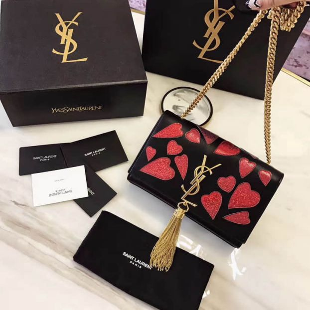 YSL 2017SS Valentine's Day Limited Edition Shoulder Bags