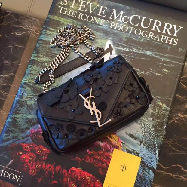 YSL Black Bag on Chain 399289 Shoulder Bags