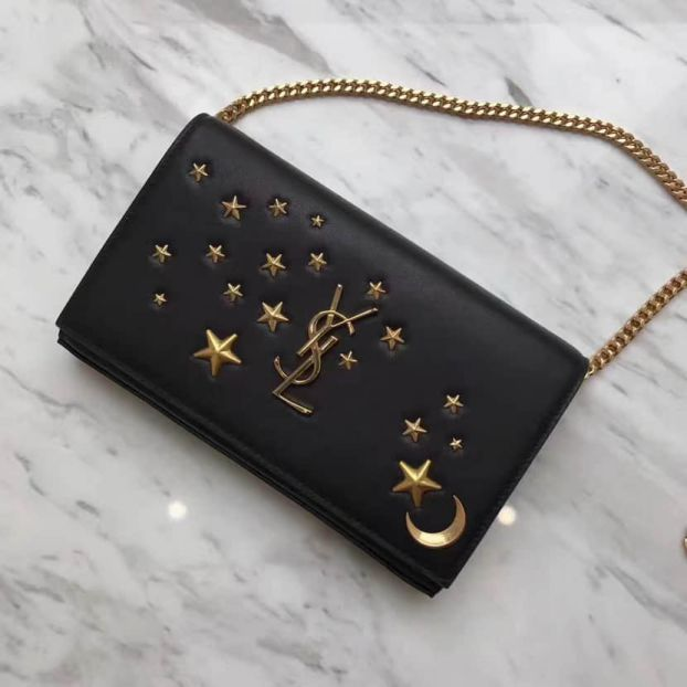 2017 YSL Chain Envelope Shoulder Bags