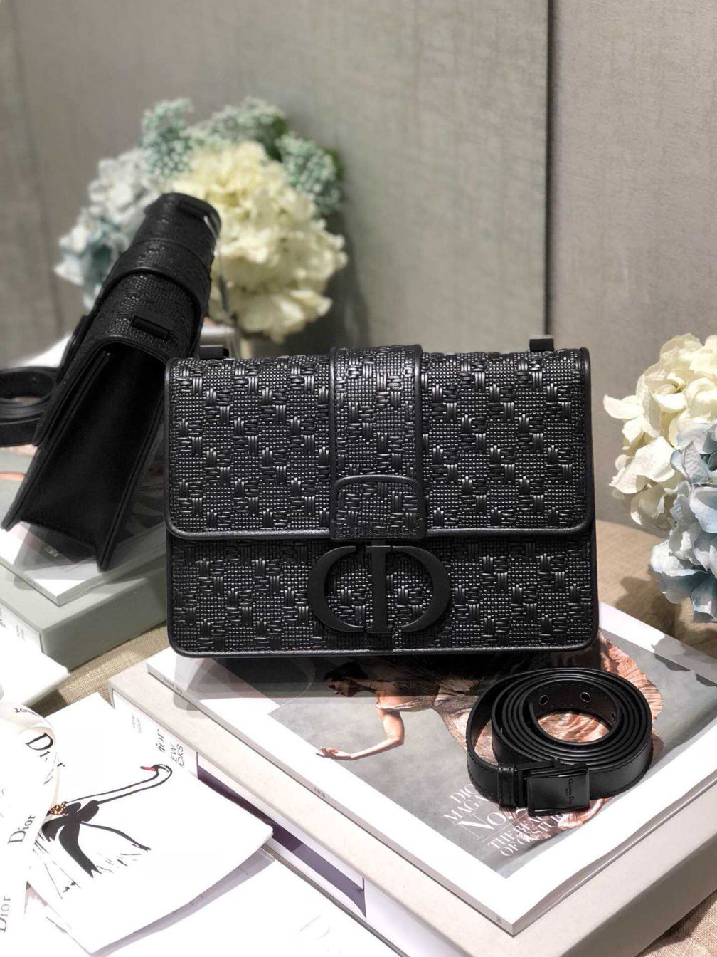 CD 30 MONTAIGNE SO BLACK MONTAIGNE BAGS