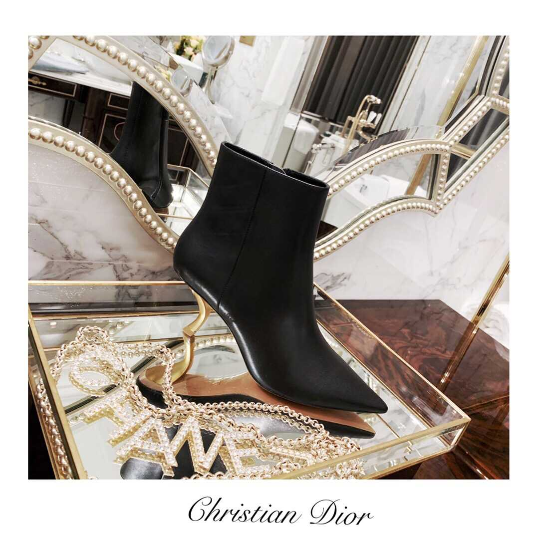 CD 2019 HEEL ANKLE BOOTS
