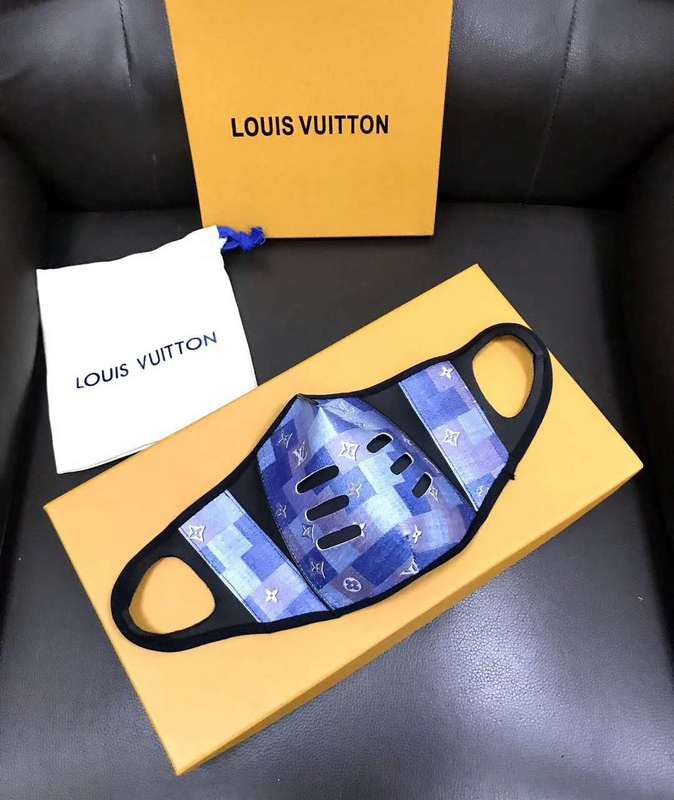 LV Face Masks Camouflage  [single]