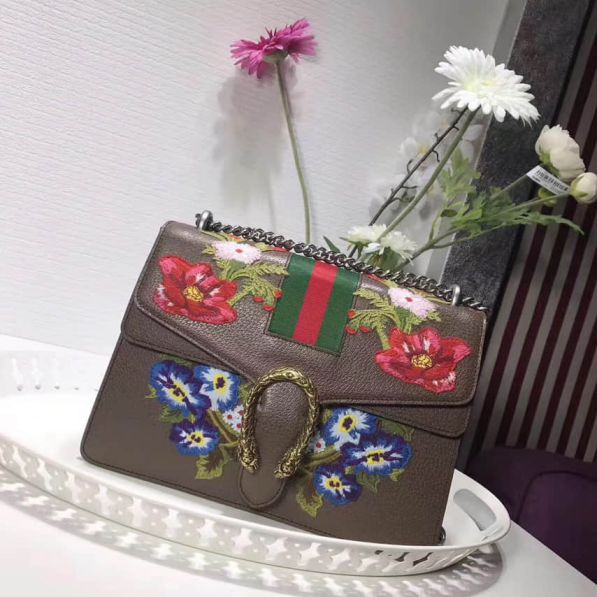 GG Dionysus Embroidery 403348 Women Shoulder Bags