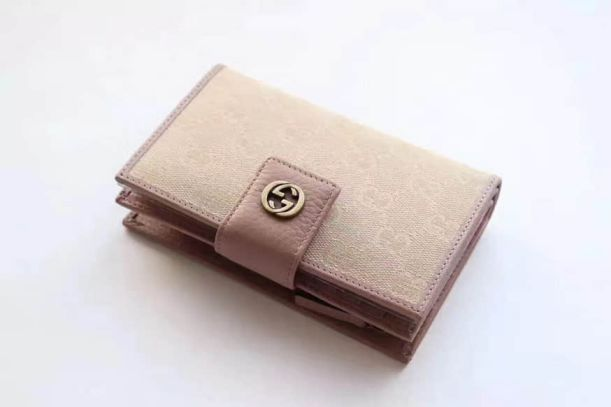 GG Marmont Canvas G 337023 Pink Women Wallets