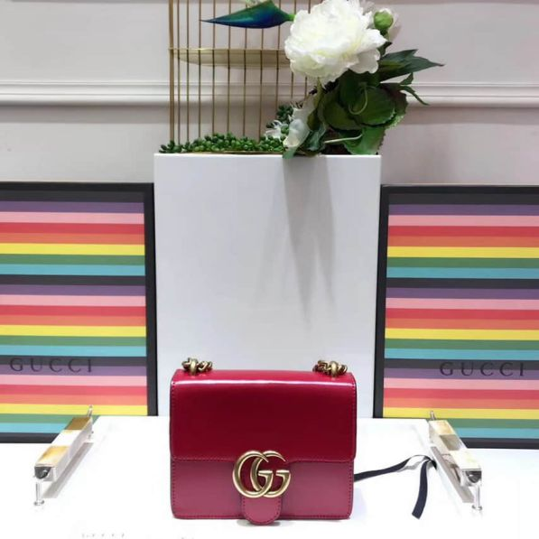 GG Marmont BOX Small 431384 Women Shoulder Bags