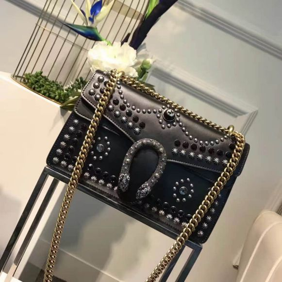GG Rivet Chain Dionysus 400249 Women Shoulder Bags