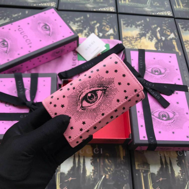 GG 2019SS NEW Key Bags 516935 Pink Women Small Goods