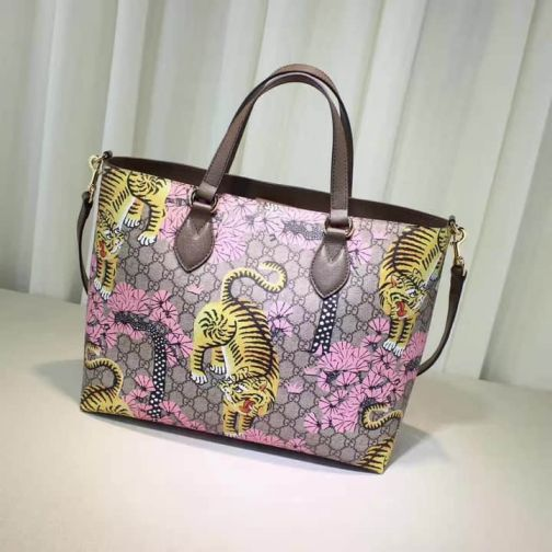 GG 16 NEW Tote 453705 Pink Women Shopping Bags