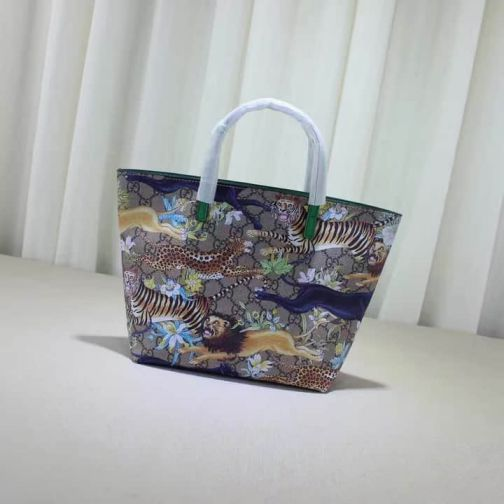 GG 2016 NEW Tote 410812 Tiger Women Shopping Bags