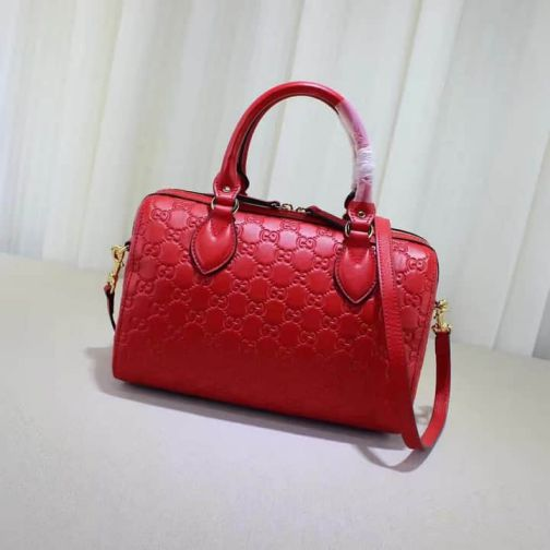 GG 409529 Red Epi 16 NEW GG Leather Women Clutch Bags
