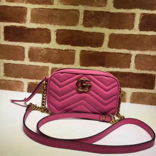 GG 16NEW gg marmont Black White 448065 Pink Women Shoulder Bags