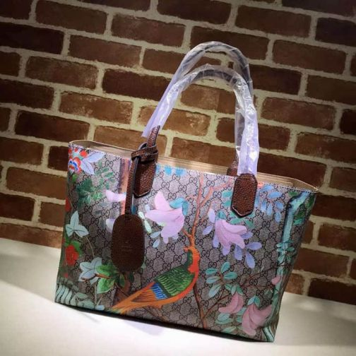 GG 16 SS NEW 412096 Coffee Women Shopping Bags