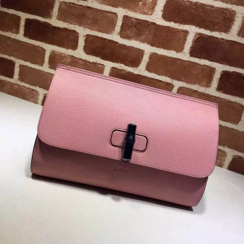 GG 15 NEW Vintage 387220 Pink Women Clutch Bags