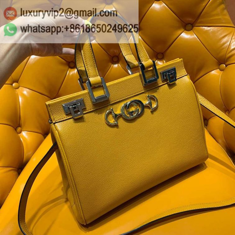 GG Zumi Small 569712 Yellow Women Tote Bags