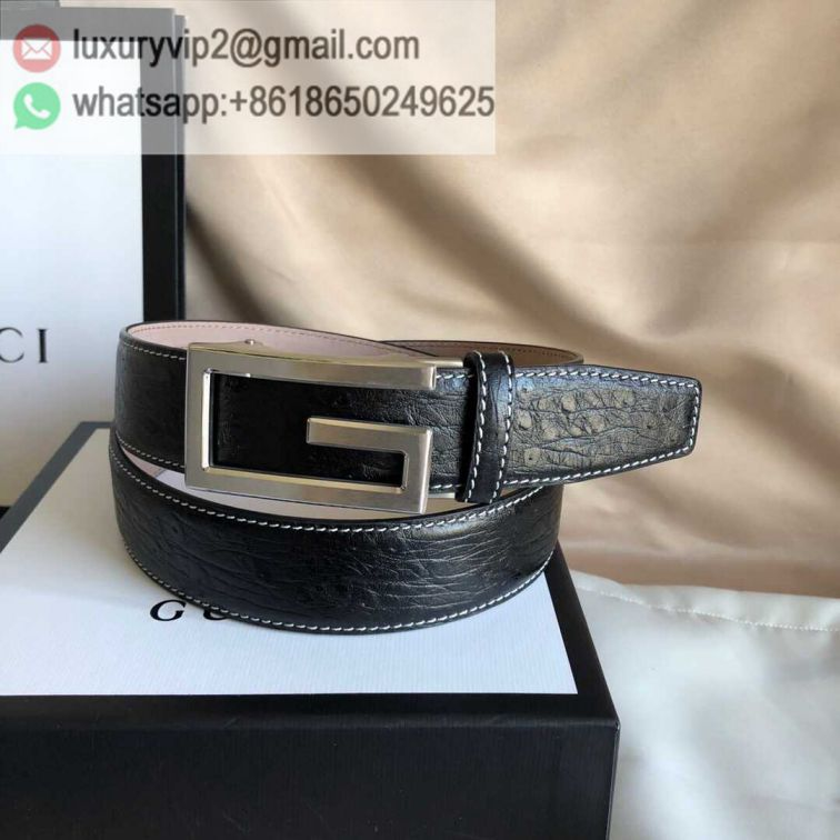 GG Leather 3.5cm Men Belts