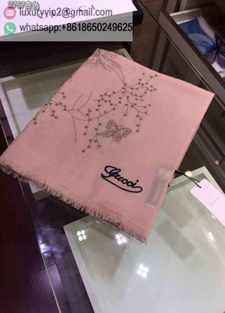 GG Butterfly Cashmere Women Scarves
