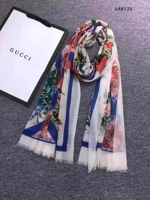 GG 100% Cashmere Women Scarves