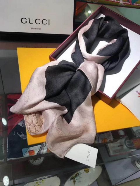 GG 100% Silk Women Scarves