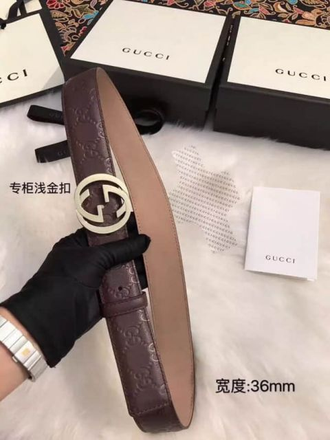 Classic GG Men Leather Belts