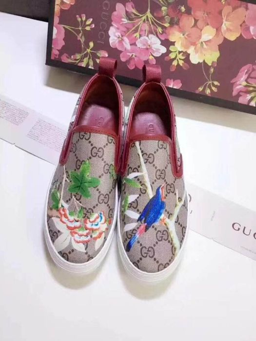 GG Women Leather Shoes