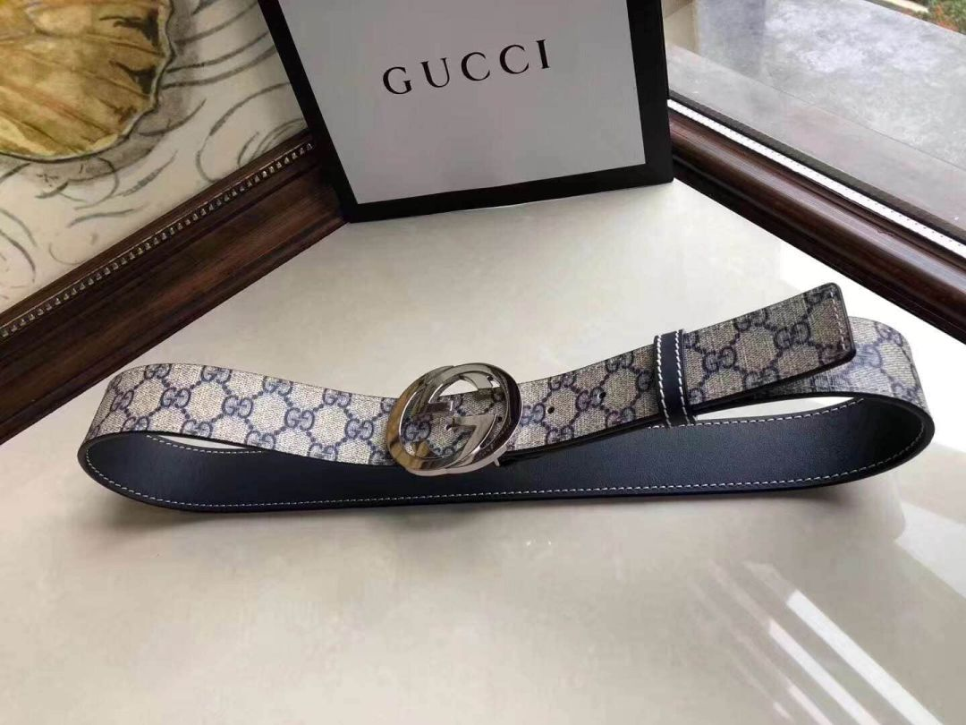 GG PVC GG 2018SS 38mm Men Belts